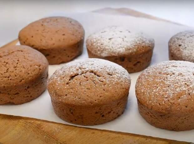 Шоколадные чудо-кексы