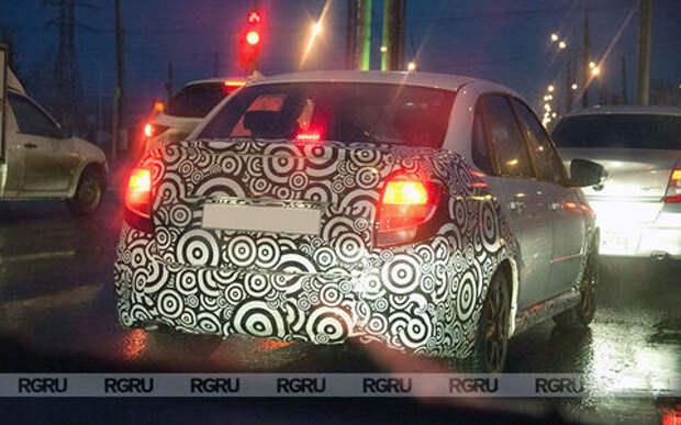 Lada тестирует новую версию Гранты