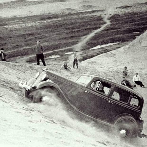 ГАЗ-М1 СССР, автомобили, советская техника, советские машины