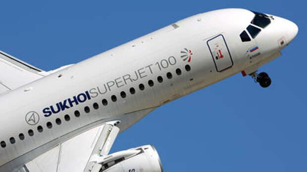 Air France возьмет в аренду самолеты SSJ100