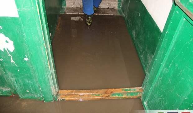 ВГае утонул подъезд жилого дома