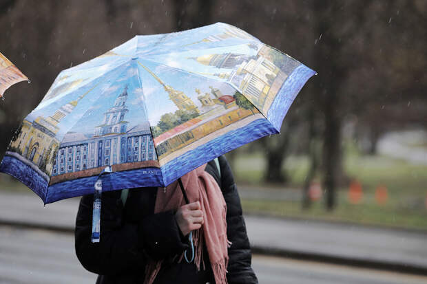 Дождь в Москве продолжит идти ещё сутки
