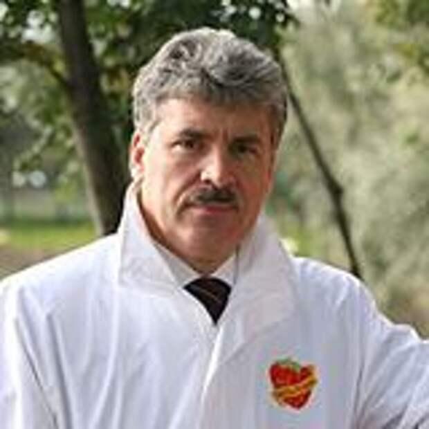 Грудинин из совхоза Ленина
