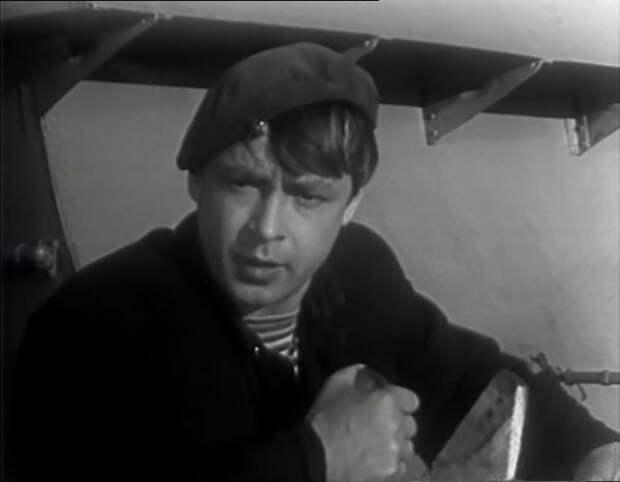 Вячеслав Жариков. Кадр из киноленты «Прощай» (1966)
