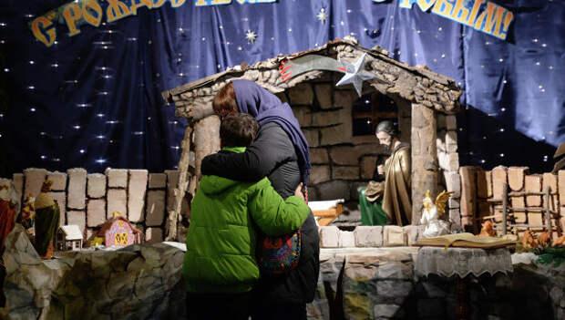 Ученик на праздник по ошибке нарядился Сталиным вместо святого Иосифа
