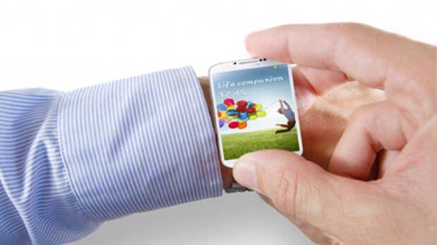 Появились фото  «умных часов» Galaxy Gear от Samsung