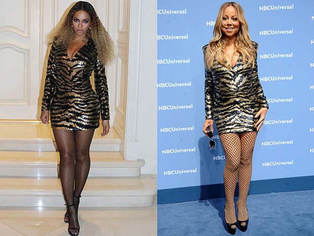 Тигриные мотивы: кому платье идет больше?