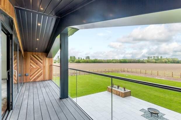 Вот вид с балкона дизайн, до и после, дом, жилье, переделка, ремонт, трансформация