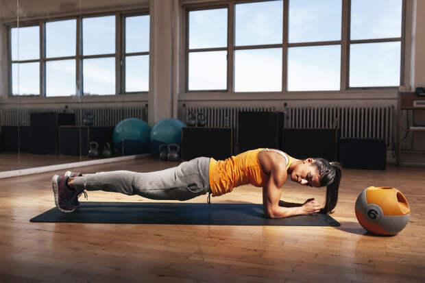 Упражнение планка: как делать, чтобы похудеть