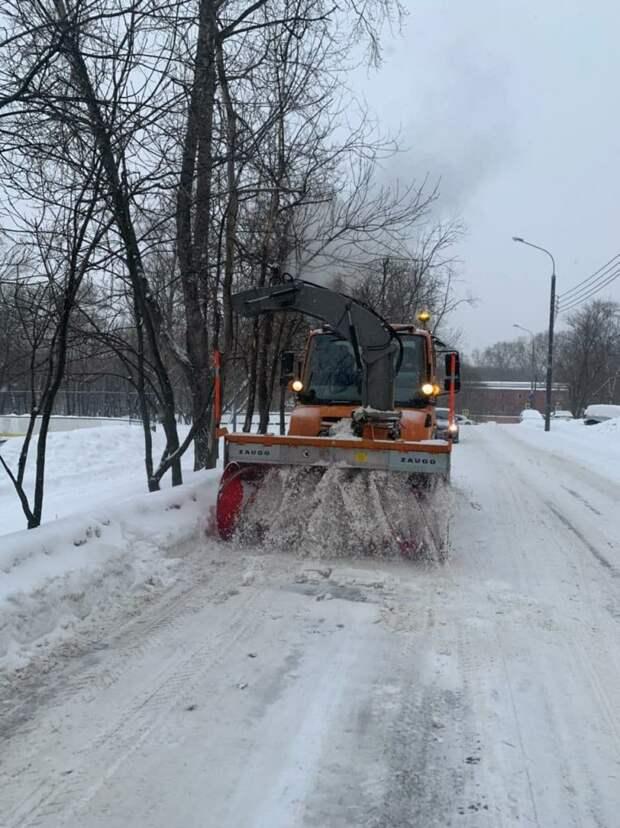 Коммунальщики в Бабушкинском работают в усиленном режиме