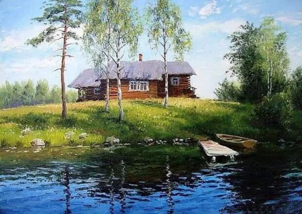 художник Олег Пятин картины – 12