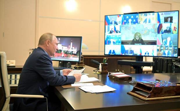 Владимир Путин: при необходимости нерабочие дни будут продлены после 7 ноября