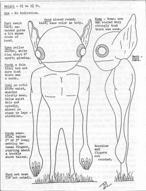 Нападение инопланетян 21 августа 1955 года в Хопкинсвилле