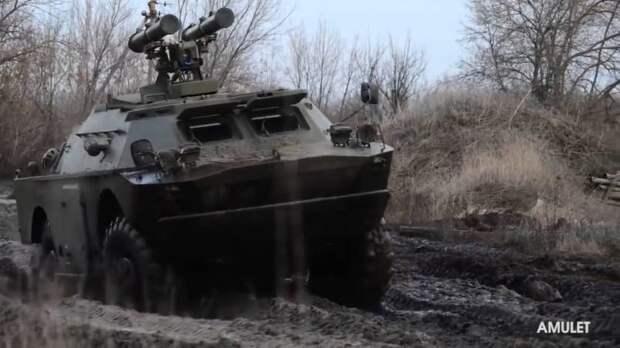 Самоходный противотанковый ракетный комплекс ВПК Украины «Амулет»
