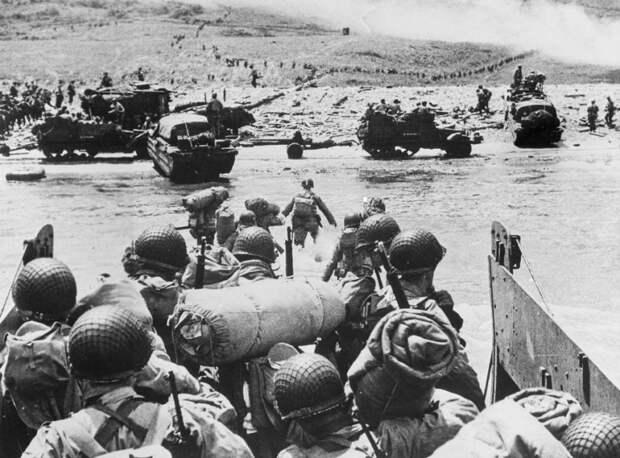 высадка войск союзников в Нормандии