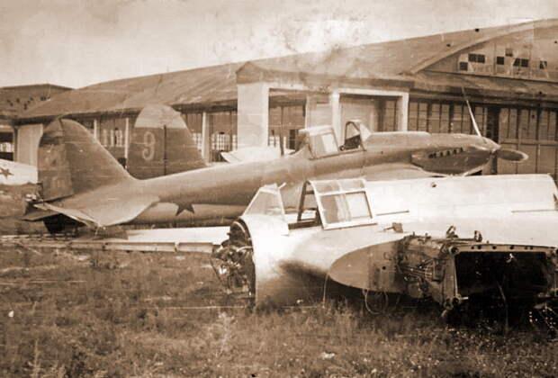 Ил-2 74-го ШАП, оставленные из-за повреждений на аэродроме Бобруйск - Тяжелый дебют «летающего танка»   Военно-исторический портал Warspot.ru