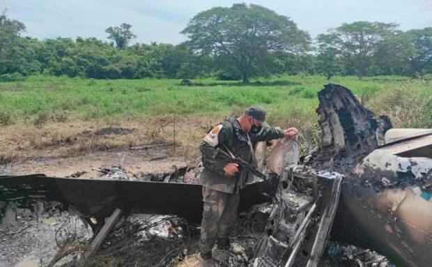 Венесуэла в рамках закона от 2013 года ликвидировала американский самолет