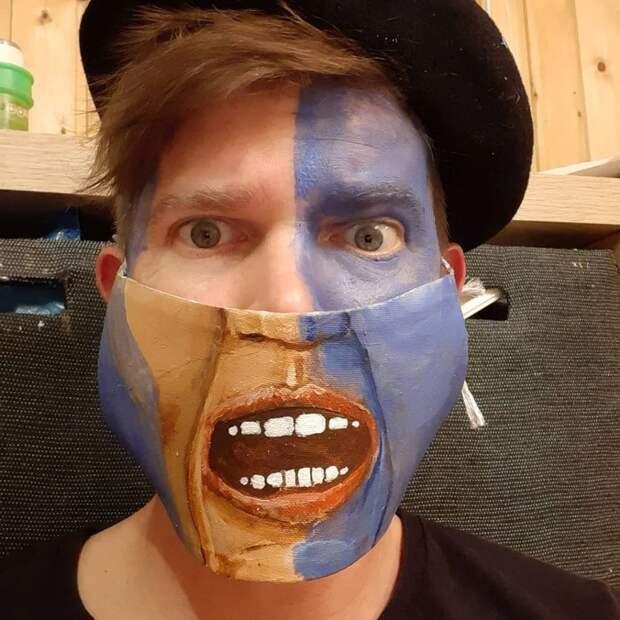 Каждый день— вновой маске: челлендж австрийского художника продолжается!