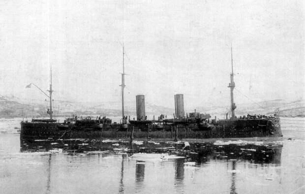 Броненосный крейсер «Рюрик».