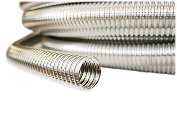 Гофрированная нержавеющая труба — производство и особенности применения
