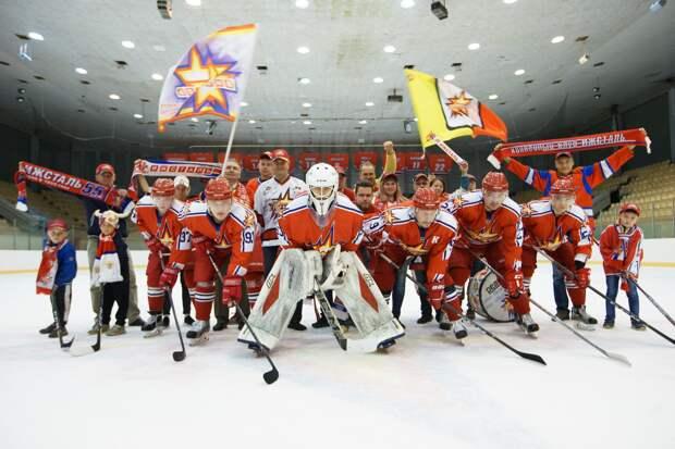 Юбилей хоккейного клуба «Ижсталь»: программа мероприятий