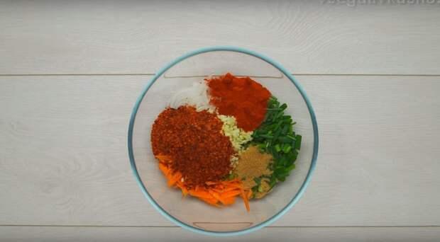 рецепт огурцов по корейски с морковью