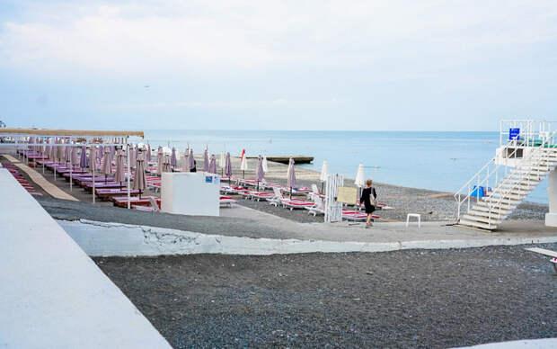 Пляжи Сочи получили международный сертификат о чистоте берега и прибрежных вод