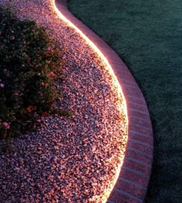 Скрытое освещение в интерьере