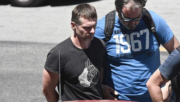 Россиянин Александр Винник, задержанный в Греции по подозрению в отмывании денег