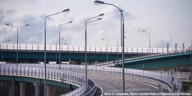 Собянин: СВХ — один из крупнейших дорожных проектов Москвы за всю ее историю