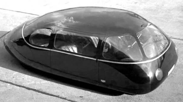 Аэродинамический 38-сильный автомобиль Schlörwagen конструкции Карла Шлёра авто, автодизайн, автомобили, дизайн, интересные автомобили, минивэн, ретро авто