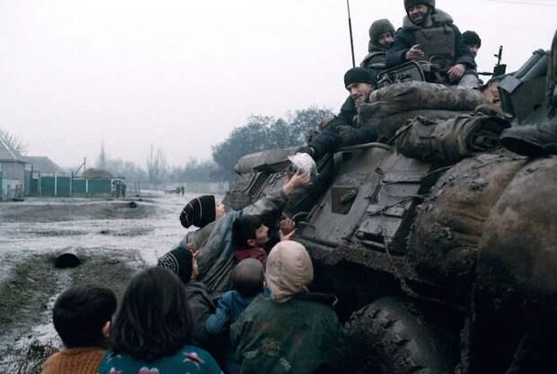 Чеченская война: значит это кому-то выгодно В ночь на 1 января 1995 года Российская армия начала штурм