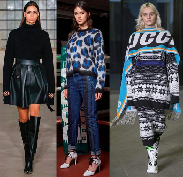 Модный трикотаж осень-зима