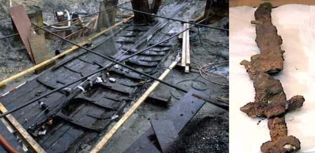 корабль викингов из Америки