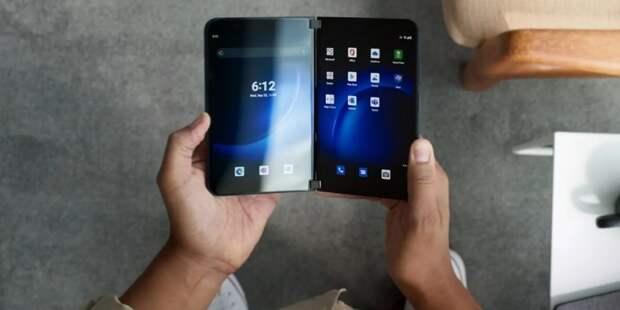 Microsoft представила складной смартфон Surface Duo 2