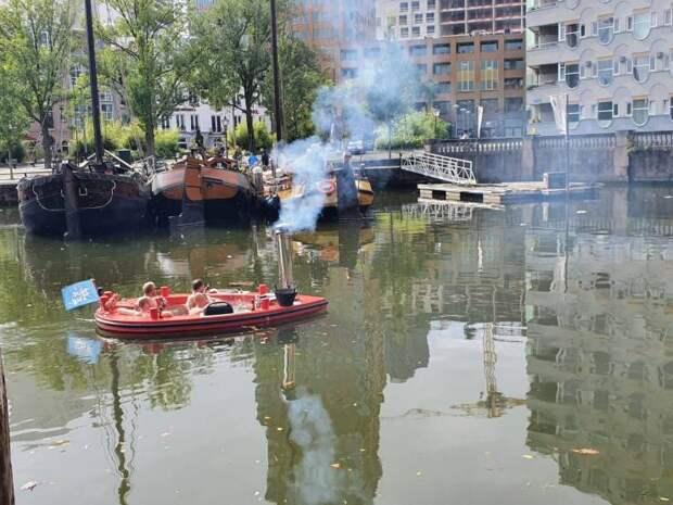 Джакузи на реке