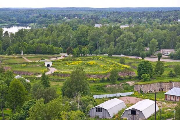 Крепости Ленинградской области. Крепость Анненкрон (Анненские укрепления)