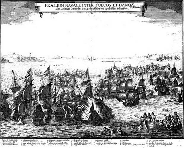 Сражение при Фемарне, 1644 год - Датский флот нового времени: типы кораблей   Warspot.ru