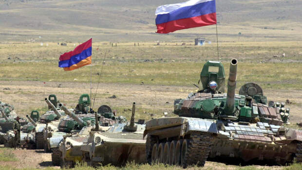 Совместные учения военных России и Армении проходят регулярно
