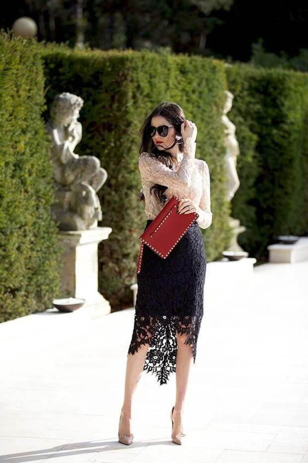 Кружевные юбки - стильный акцент (трафик)