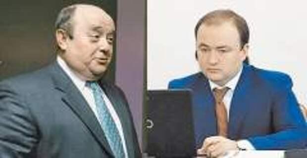 Михаил Фрадков и его сын Пётр (фото: Павел Смертин/Коммерсантъ, udprf.ru)