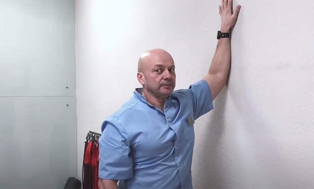 Одно упражнение для ровной спины: занимает полминуты и можно делать с утра