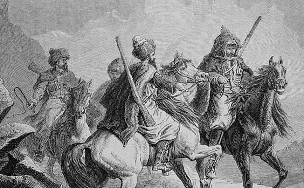 Горцы и казаки на Кавказе