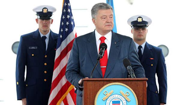 Порошенко передал Туску и Столтенбергу предложения по санкциям к России
