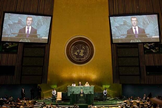В ООН приняли закон о незаконном обогащении, который поддержали 50 стран, но отклонила ЕР