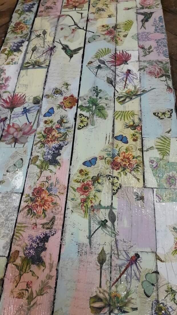 Многоцветно-геометрично Фабрика идей, деревянные полы, идеи, красота, удивительно