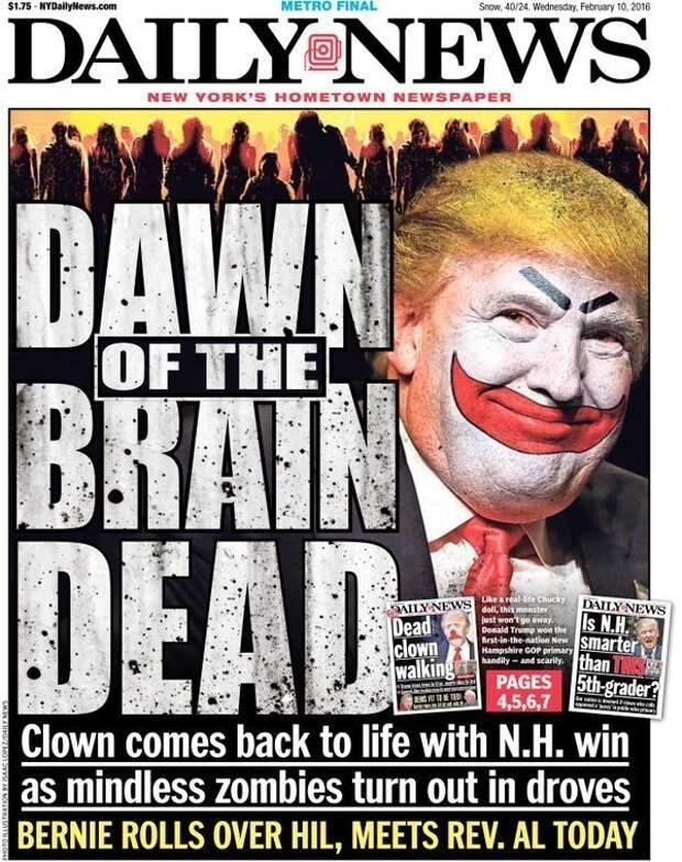 Правда Темный рыцарь виделся и на лицах иных политиков издания, издевательство, интересное, мир, обложки, политики, странное