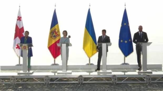 Украина, Грузия, Молдавия — клуб вечных невест