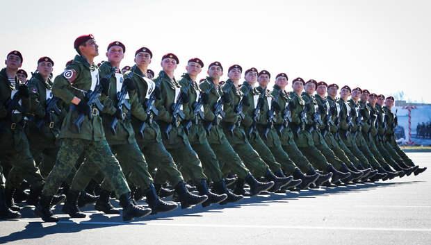 Торжественные парады в честь 75‑летия Победы пройдут в городах Подмосковья 24 июня
