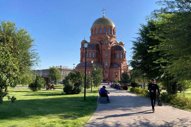 На освящение в Волгограде нового храма Александра Невского ждут Патриарха Кирилла